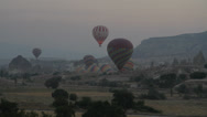 Stock Video Footage of CAPPADOCIA AIR BALLONS