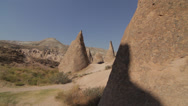 Stock Video Footage of CAPPADOCIA LANDSCAPE