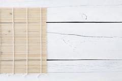 makisu on a white table - stock photo