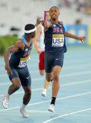 Eric Futch and Quincy Downing of USA - stock photo