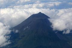 Volcano pico on the azores portugal Stock Photos