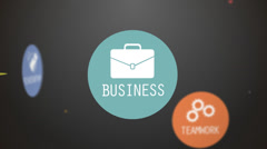 Business words. Stock Footage