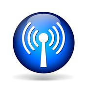 Stock Illustration of antenna icon