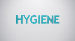 Hygiene icon. Stock Footage