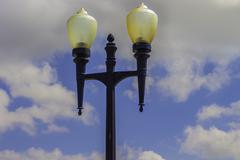 Vintage lamp post 2 Stock Photos