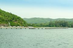 port at kho karm - stock photo