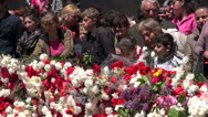Stock Video Footage of Yerevan, remembering the Armenian genocide, news footage