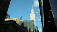 Stock Video Footage of Chrysler Building in New York