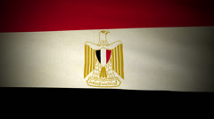 Flag Egypt 04 Stock Footage