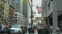 Residence Inn in New York Stock Footage