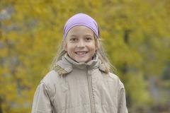 Stock Photo of Germany, Bavaria, Girl smiling, portrait
