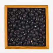 Black beans Stock Photos