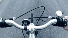 Bike handle bars Stock Footage