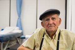 elderly man - stock photo