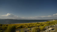 Stock Video Footage of Mono Lake 40 Timelapse Navy Beach Tufas Clouds