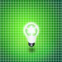 Recycle idea bulb Stock Illustration
