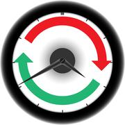 clockwise - stock illustration