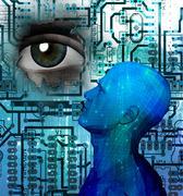 Machine Intelligence Stock Illustration