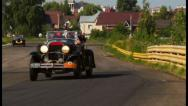 Stock Video Footage of Luxury classic cabriolet cars Chrysler 75 Roadster, Buick 25X, click for HD