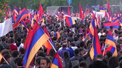 Armenia, Yerevan Stock Footage