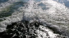 Boat Trail A Stock Footage