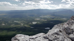 Mt. Yamnuska, Alberta - stock footage