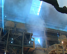 Heavy Industry Processing Plant pollution PAL Stock Footage