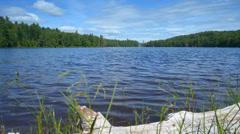 Lake and Cloud Time Lapse - Adirondacks Stock Footage