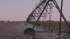 Center pivot working 3 Stock Footage