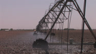 Stock Video Footage of Center pivot working 3