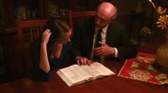 Stock Video Footage of tutoring tutor academics