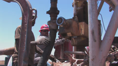 Drill for water in Texas 4 Stock Footage