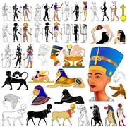 Vector- ancient egypt Stock Illustration