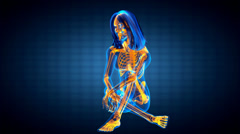 Stock Video Footage of cute woman radiography
