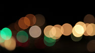 Stock Video Footage of Abstract Background lights in several colors, pan