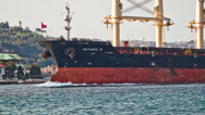 Stock Video Footage of Bulk Carrier