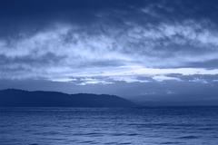 Stock Photo of night sea