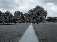 regents park, london - stock photo