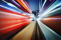 futuristic blur background - stock photo