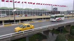 Ataturk Airport, Istanbul Stock Footage