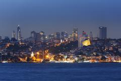 Turkey, Istanbul, View of high rises Stock Photos