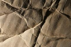 Stock Photo of old crumpled cardboard texture