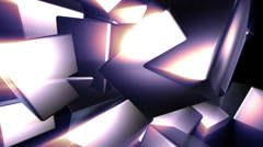 Cubes expansion - stock footage