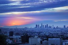 Los Angeles horisonttiin Kuvituskuvat