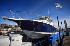 Yacht boat Stock Photos