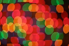 colorful circles background - stock photo