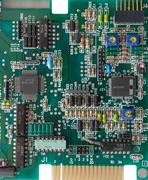 pcb background - stock photo