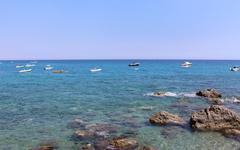 Mediterranean Sea, South Italy, Calabria - stock photo