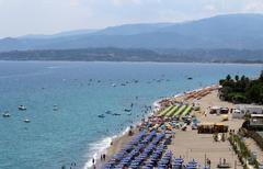 Stock Photo of Mediterranean Sea, South Italy, Calabria