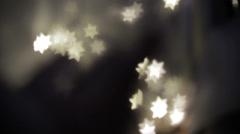 Ethereal Bokeh Stars 3 - stock footage